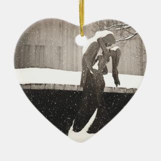 Love - New York Winter Christmas Ornament
