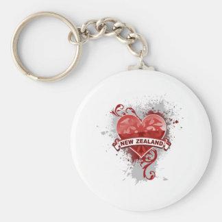 Love New Zealand Key Ring
