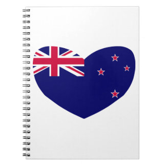 Love New Zealand Notebook