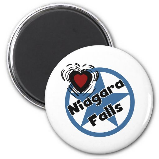 Love Niagara Falls Magnet
