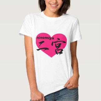 love ninomiya t shirts