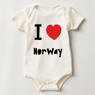 Love Norway Baby Bodysuit