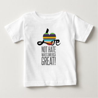 Love Not Hate (SWM) Baby Jersey T-Shirt