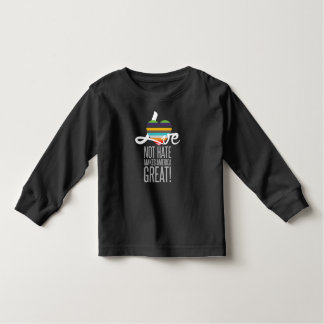 Love Not Hate (SWM) Toddler Dark Long Sleeve Tee