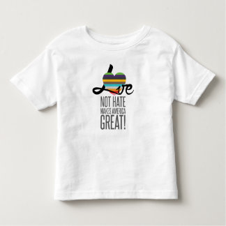 Love Not Hate (SWM) Toddler Jersey T-Shirt