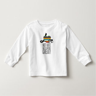 Love Not Hate (SWM) Toddler Long Sleeve T-Shirt