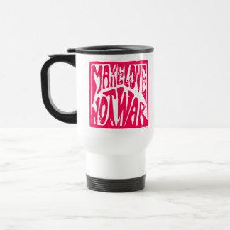 Love, Not War Coffee Mugs