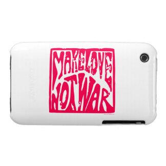 Love, Not War iPhone 3 Case