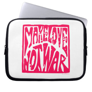 Love, Not War Laptop Computer Sleeve