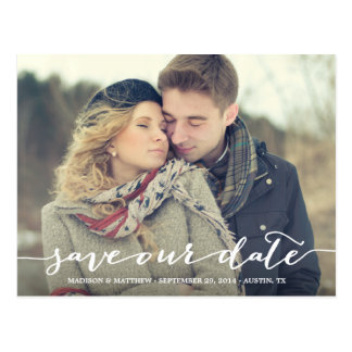 Love Note | Save the Date Postcard