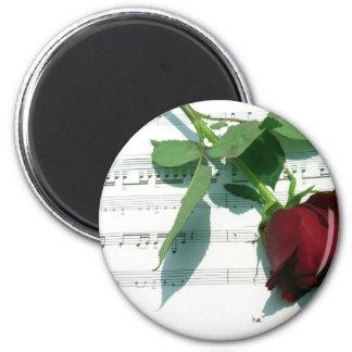 Love Notes 6 Cm Round Magnet