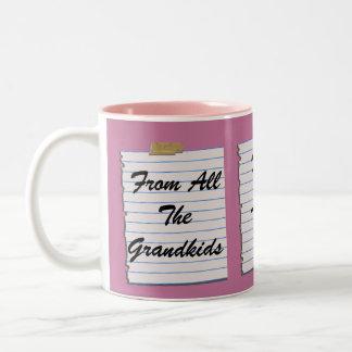 Love Notes For Grandma Mug