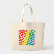 Love Notes Large Tote Bag