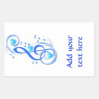 Love Notes_ Rectangular Sticker