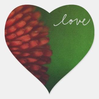 Love Notes Heart Sticker