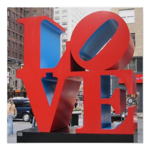 Love NYC 2006 Poster