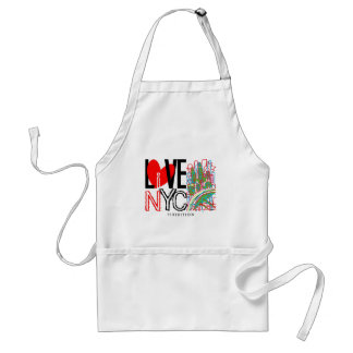 Love NYC & Live In NYC Apron