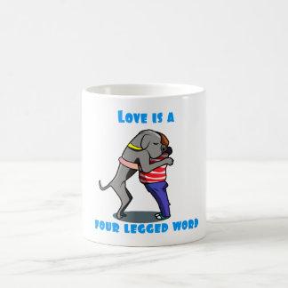 Love of a Great Dane Coffee Mug