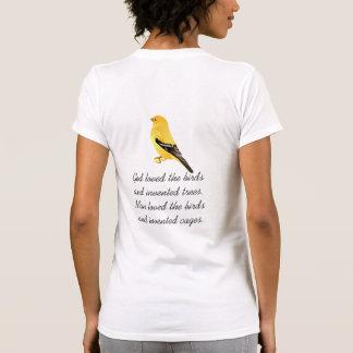 Love of birds tshirt