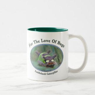 Love Of Bugs Caterpillar Two-Tone Mug