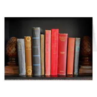 Love of Classic Books Greeting Card