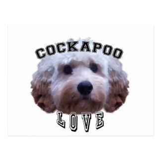 Love of Cockapoo dogs Postcard