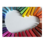 Love of Colour Postcard