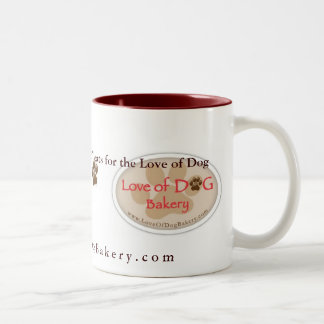 Love of Dog Bakery mug