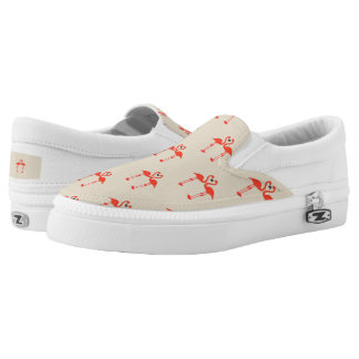 Love of flamingos slip on shoes