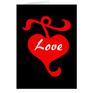 Love of Hearts Greeting Card by Janz