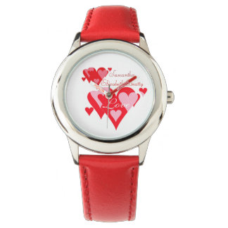 Love of Hearts Personalizable Wristwatch