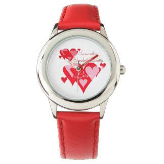Love of Hearts Personalizable Wristwatch