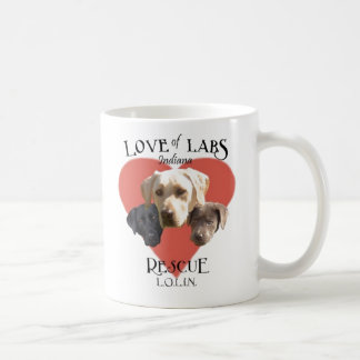 Love of Labs, Indiana Coffee Mug