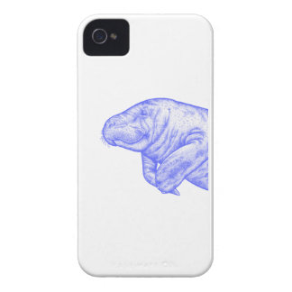 LOVE OF MANATEE iPhone 4 COVERS