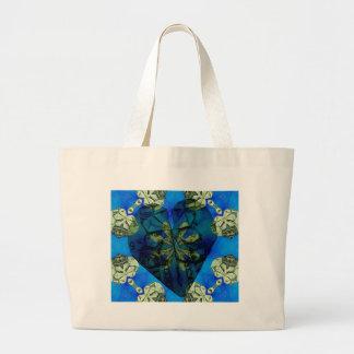 Love of money oragami canvas bag