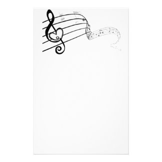 Love of Music Stationery