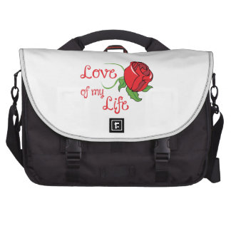 LOVE OF MY LIFE LAPTOP COMMUTER BAG