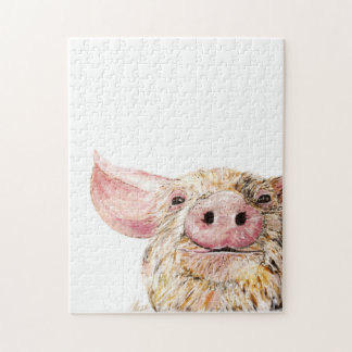 Love of Pigs Jigsaw Puzzle