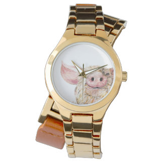 Love of Pigs Watch