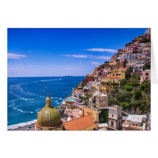 Love Of Positano Italy Postcard Greeting Card
