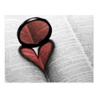 Love of Reading Postcard