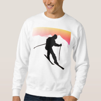 Love Of Skiing Sweatshirt