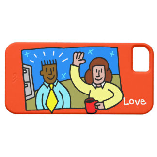Love - office romance barely there iPhone 5 case