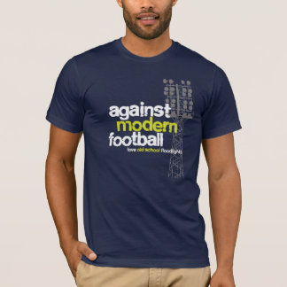 Love Old School Floodlights (Blue/Grey) T-Shirt