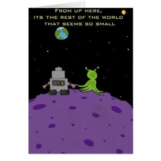 Love On Pluto Greeting Card