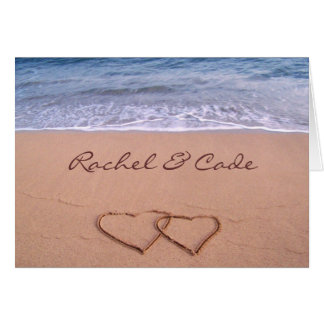 Love on the Beach Card