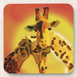 Love On The Serengeti Beverage Coasters