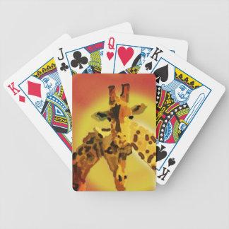Love On The Serengeti Poker Deck