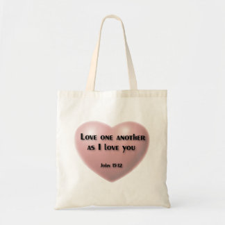 """""""Love one another as I love you"""" bag"""