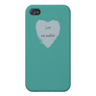 Love one another iPhone 4 case